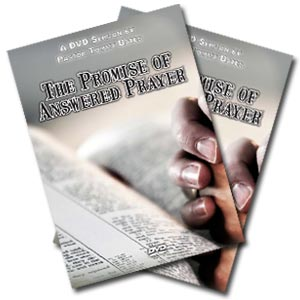 The Promise of Answered Prayer CD/DVD Sermon