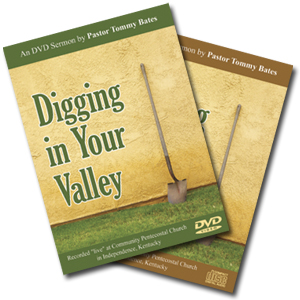 Digging In Your Valley CD/DVD Sermon
