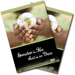Greater is He That is in You CD/DVD Sermon