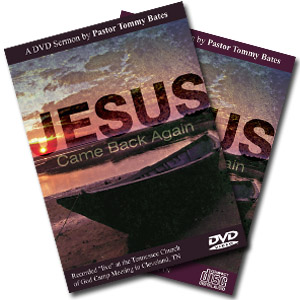 Jesus Came Back Again CD/DVD Sermon
