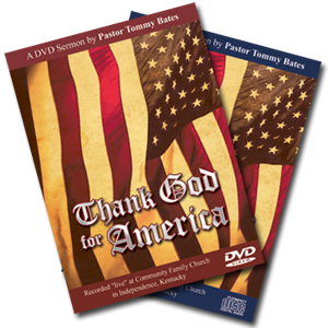 Thank God for America CD/DVD Sermon