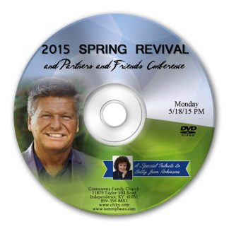2015 Partners & Friend Conference CD/DVD